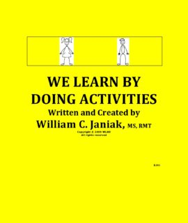We Learn By Doing Activities – BJ01