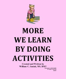 More We Learn By Doing Activities – BJ03