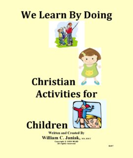 We Learn By Doing Christian Activities For Children – BJ07